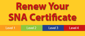 SNA's Certificate Program - Renew Your SNA Certificate
