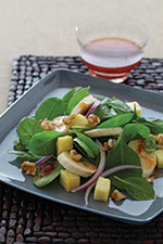 Tropical Spinach Saladt