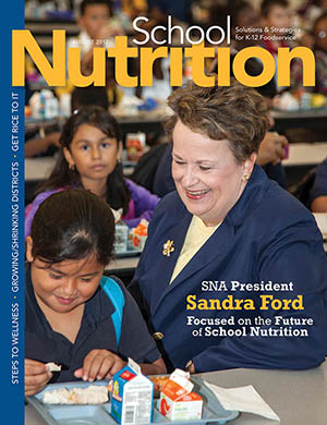 August 2012 issue of School Nutrition magazine