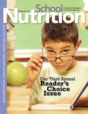 February 2012 issue of School Nutrition magazine