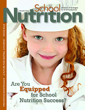 January 2012 issue of School Nutrition magazine