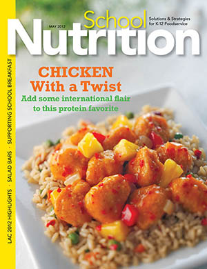 May 2012 issue of School Nutrition magazine