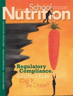November 2012 issue of School Nutrition magazine