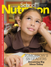 October 2012 issue of School Nutrition magazine