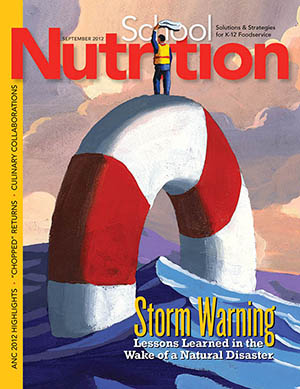 September 2012 issue of School Nutrition magazine