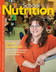 August 2013 issue of School Nutrition magazine
