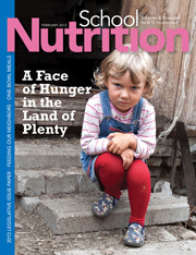 February 2013 issue of School Nutrition magazine