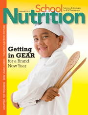 January 2013 issue of School Nutrition magazine