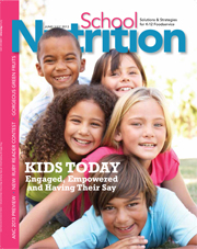 June/July 2013 issue of School Nutrition magazine