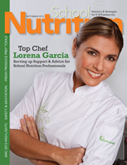 September 2013 issue of School Nutrition magazine