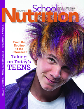 February 2014 issue of School Nutrition magazine