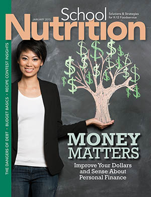 January 2015 issue of School Nutrition magazine
