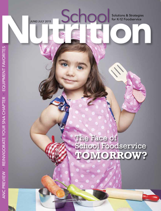 June/July 2015 issue of School Nutrition magazine