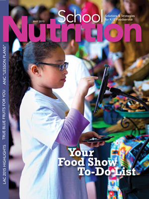 May 2015 issue of School Nutrition magazine
