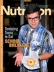 November 2015 issue of School Nutrition magazine