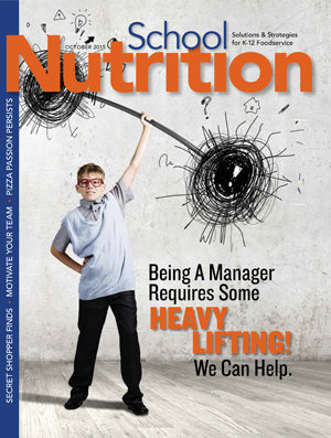 October 2015 issue of School Nutrition magazine