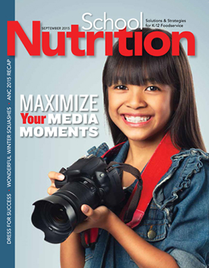 September 2015 issue of School Nutrition magazine