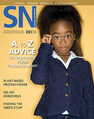 Read SNA's December 2016 Issue of School Nutrition Magazine