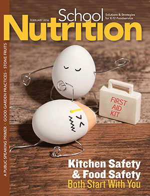 February 2016 issue of School Nutrition magazine