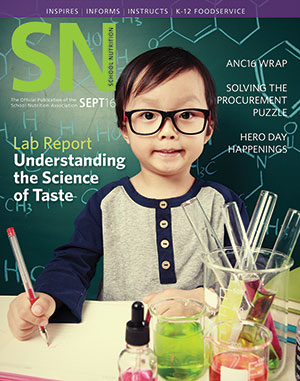 September 2016 issue of School Nutrition magazine