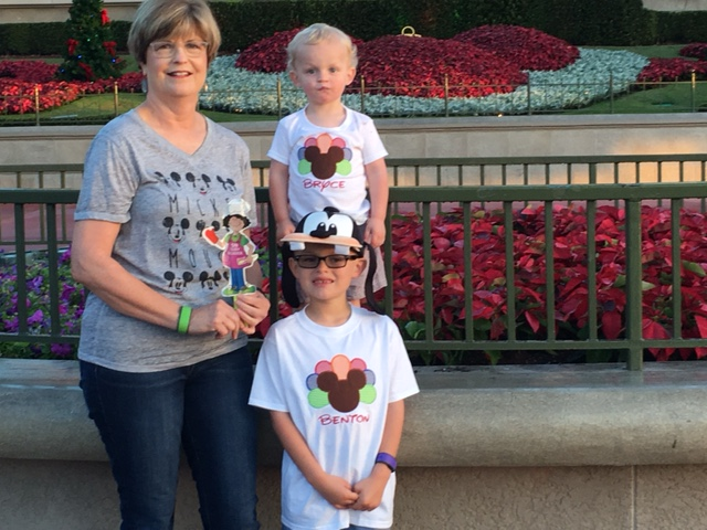 Ruby Reader roams to Disney World