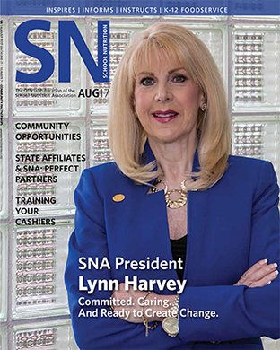Read SNA's August 2017 Issue of School Nutrition Magazine