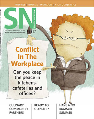 February2017 issue of School Nutrition magazine