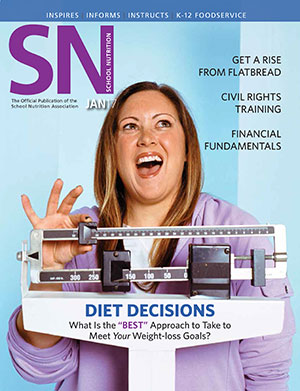 January 2017 issue of School Nutrition magazine