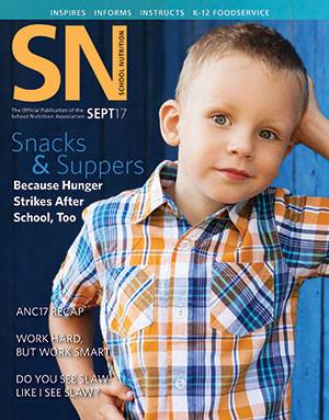 Read SNA's September 2017 Issue of School Nutrition Magazine