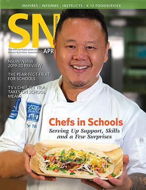April 2019 issue of School Nutrition magazine