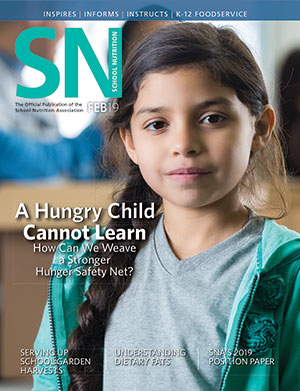 February 2019 issue of School Nutrition magazine