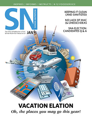 January 2019 issue of School Nutrition magazine