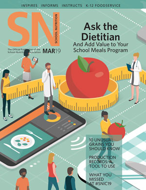 March 2019 issue of School Nutrition magazine