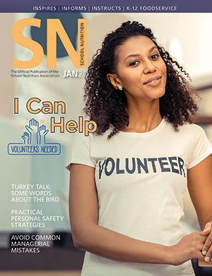 January 2020 issue of School Nutrition magazine