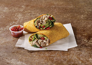 Baja Pulled Chicken Wrap