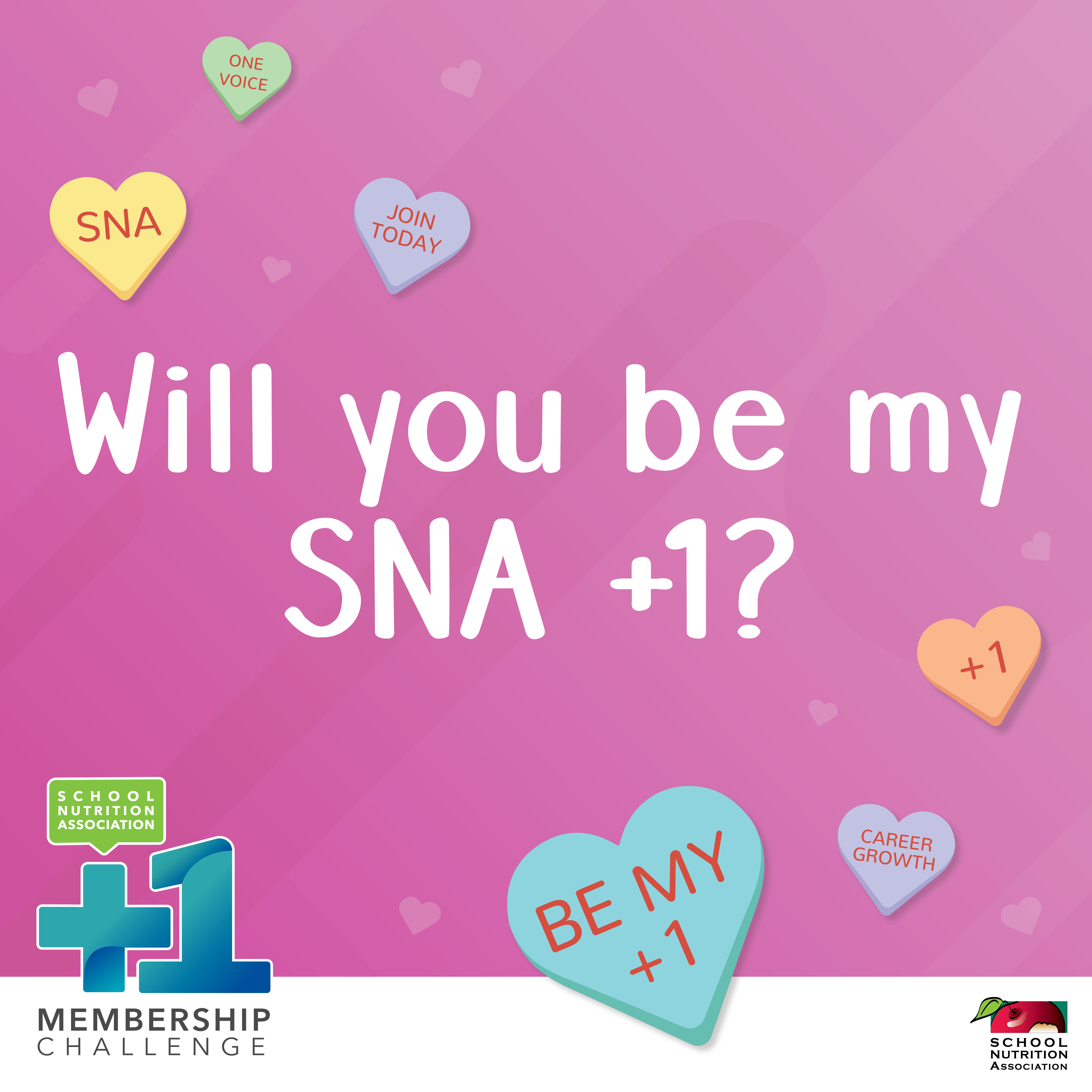 +1 Membership Campaign Social Media Materials - Valentines 2 Instagram