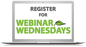 Register for Webinar Wednesdays
