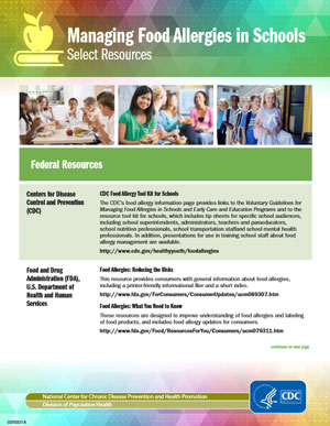 Food-Allergy-CDC-Toolkit