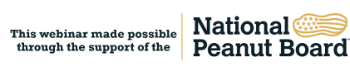 Webinar logo for the National Peanut Board