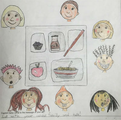 2016 National School Breakfast Week Art Contest Winning Artwork
