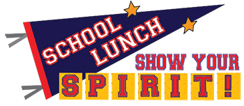 "Celebrate National School Lunch Week 2017 with the ""Show Your Spirit"