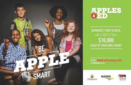 Apples4Ed $10,000 Grant for Healthy Snacking