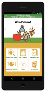usda launches food buying guide mobile app rh schoolnutrition org food buying guide usda food buying guide fns usda