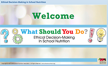 Ethics in School Nutrition