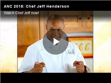 Chef Jeff Henderson Speech from at ANC 2018