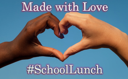 National School Lunch Week 2018 Heart Meme