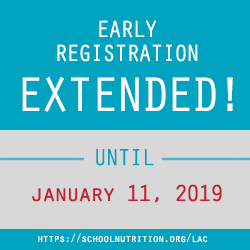 SNA's LAC 2019 Early Bird Deadline Extended
