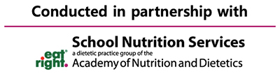 Webinar logo for the Academy of Nutrition and Dietetics