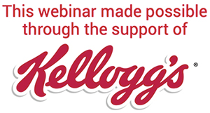 Webinar logo for Kellogg's