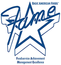BAF FAME Awards logo